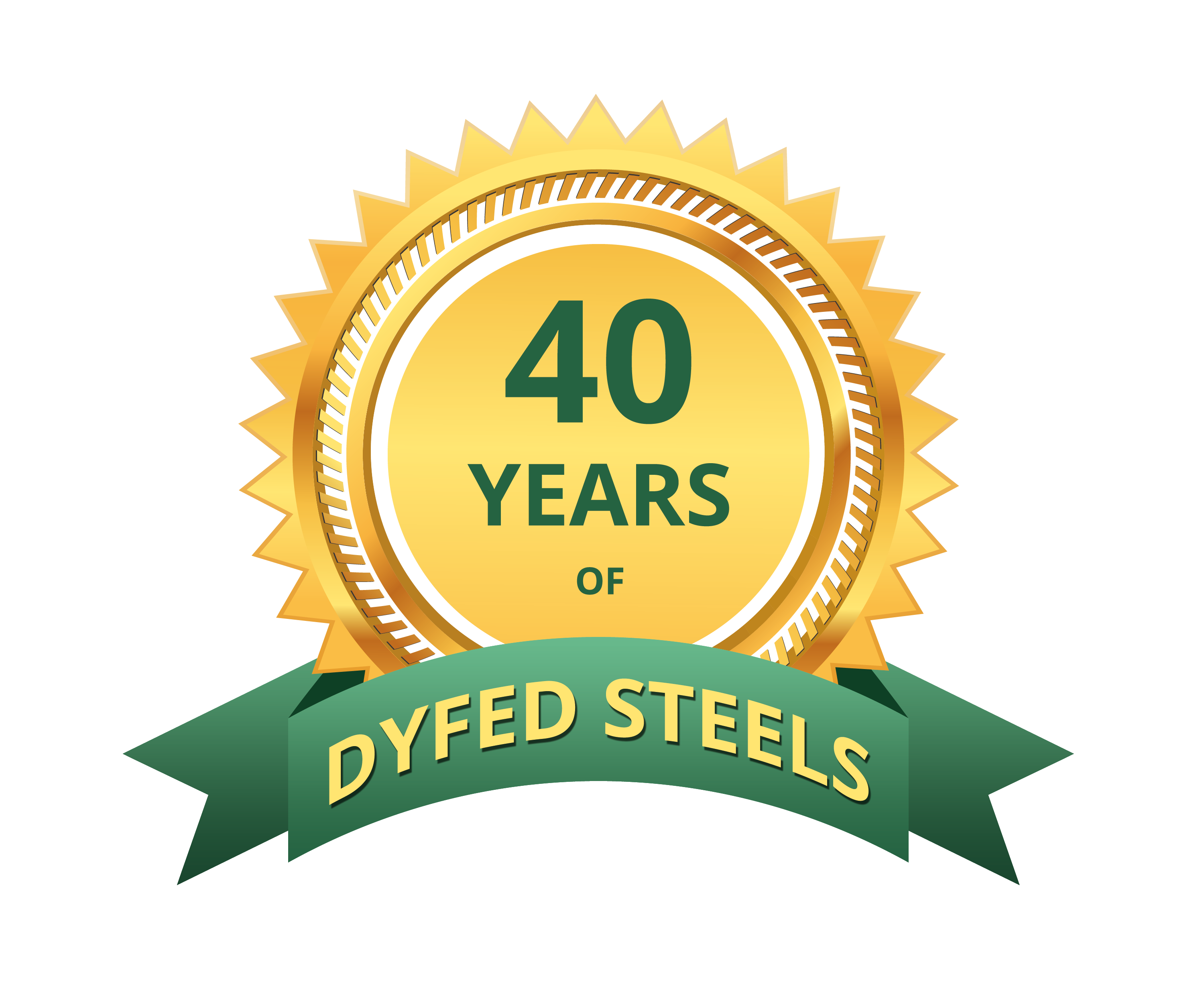 40 years Dyfed Steels